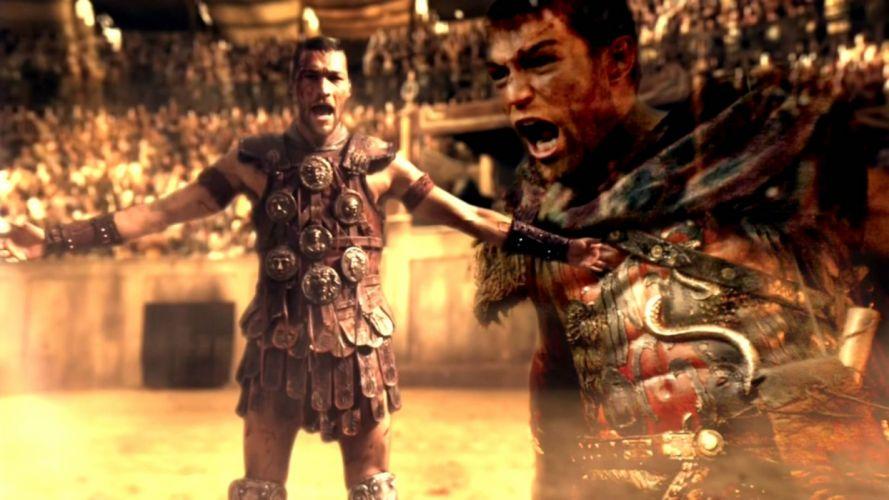 SPARTACUS series fantasy action adventure biography television warrior (6) wallpaper