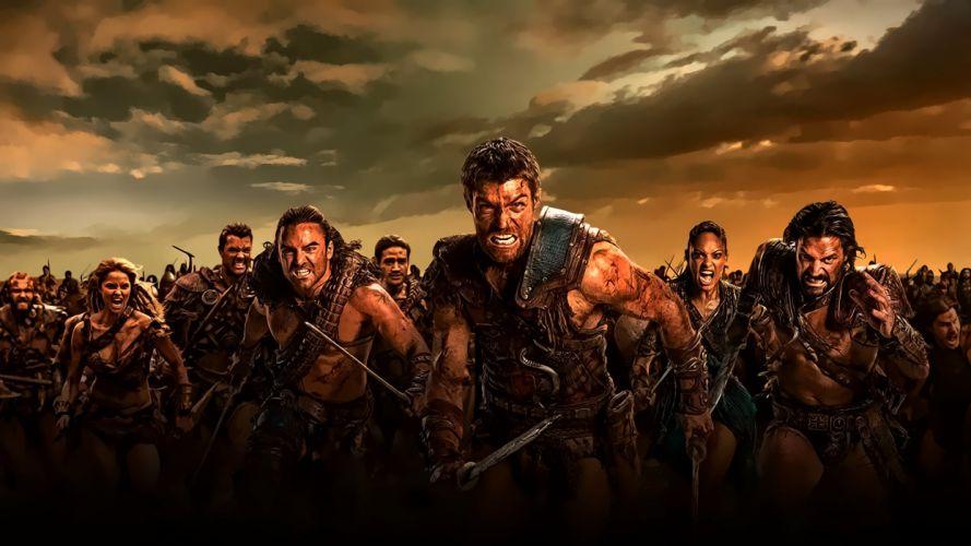 SPARTACUS series fantasy action adventure biography television warrior (3) wallpaper