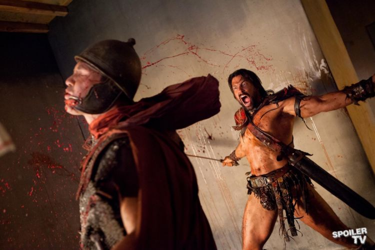 SPARTACUS series fantasy action adventure biography television warrior (4) wallpaper