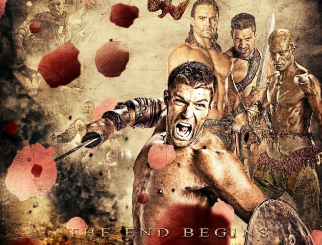 SPARTACUS series fantasy action adventure biography television warrior (9) wallpaper