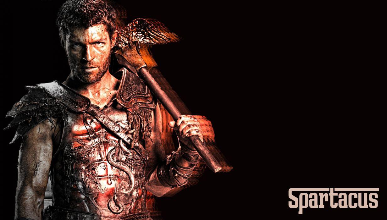 SPARTACUS series fantasy action adventure biography television warrior (16) wallpaper