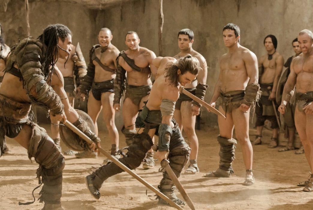 SPARTACUS series fantasy action adventure biography television warrior (12) wallpaper