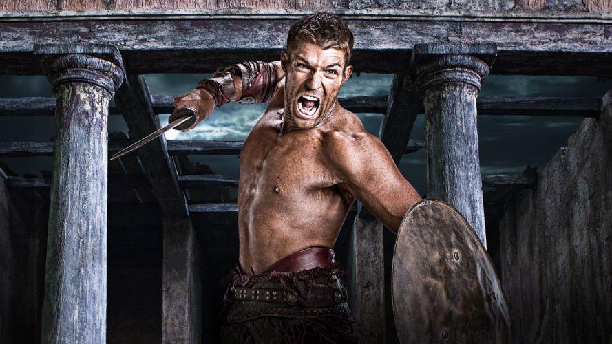 SPARTACUS series fantasy action adventure biography television warrior (19) wallpaper