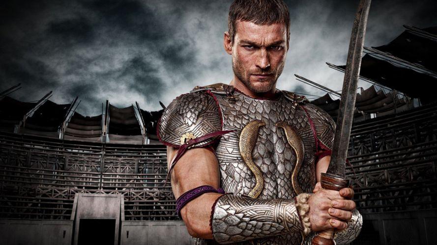 SPARTACUS series fantasy action adventure biography television warrior (26) wallpaper