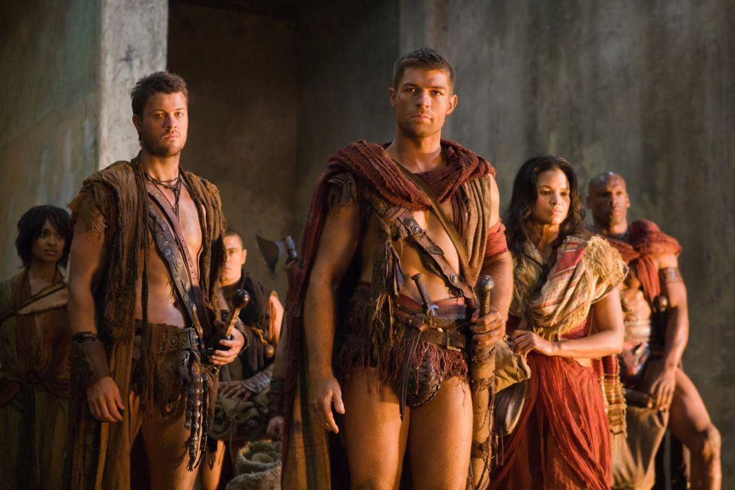 SPARTACUS series fantasy action adventure biography television warrior (24) wallpaper
