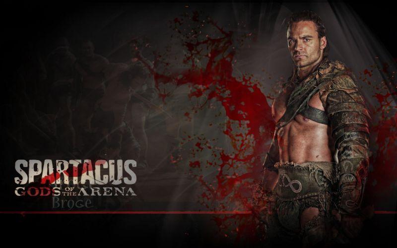 SPARTACUS series fantasy action adventure biography television warrior (33) wallpaper