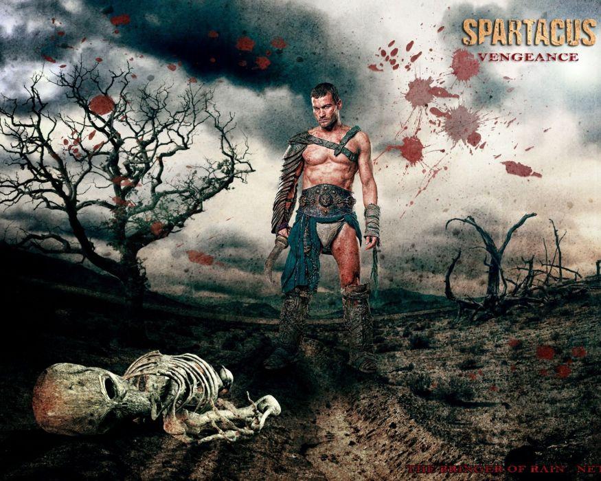SPARTACUS series fantasy action adventure biography television warrior (36) wallpaper