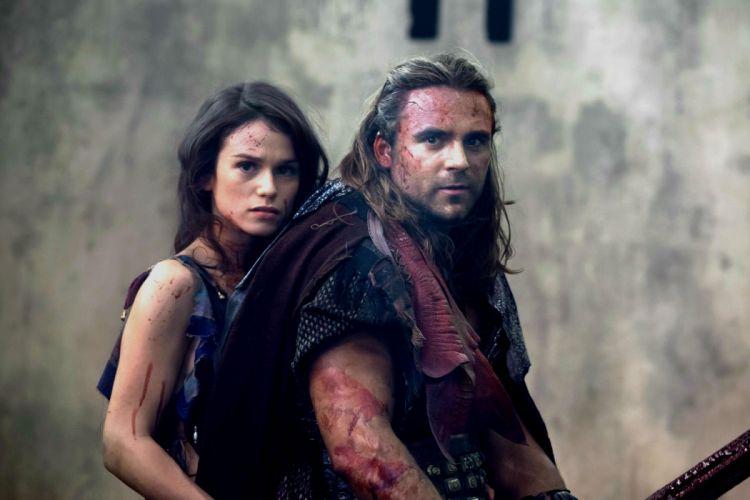 SPARTACUS series fantasy action adventure biography television warrior (55) wallpaper