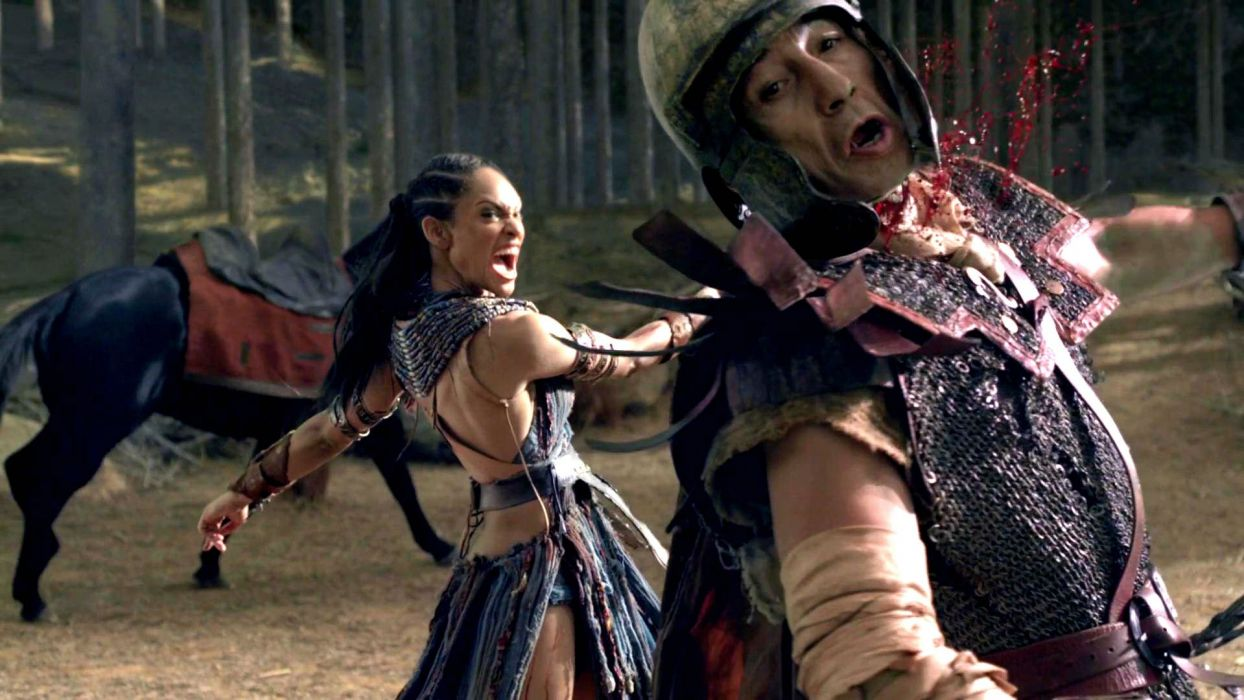 SPARTACUS series fantasy action adventure biography television warrior (51) wallpaper