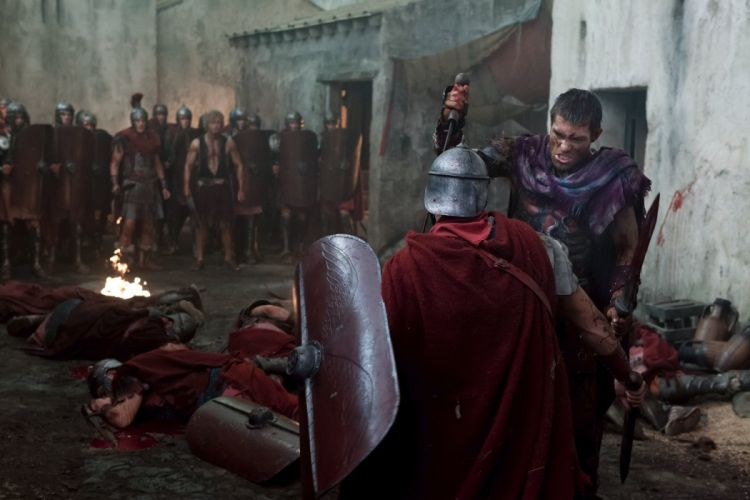 SPARTACUS series fantasy action adventure biography television warrior (56) wallpaper