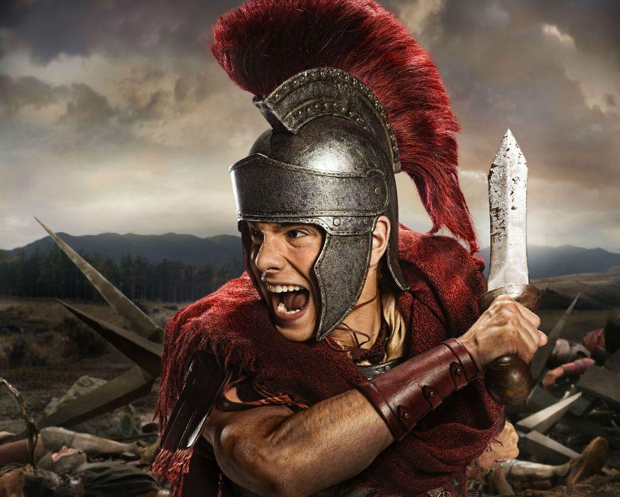 SPARTACUS series fantasy action adventure biography television warrior (73) wallpaper