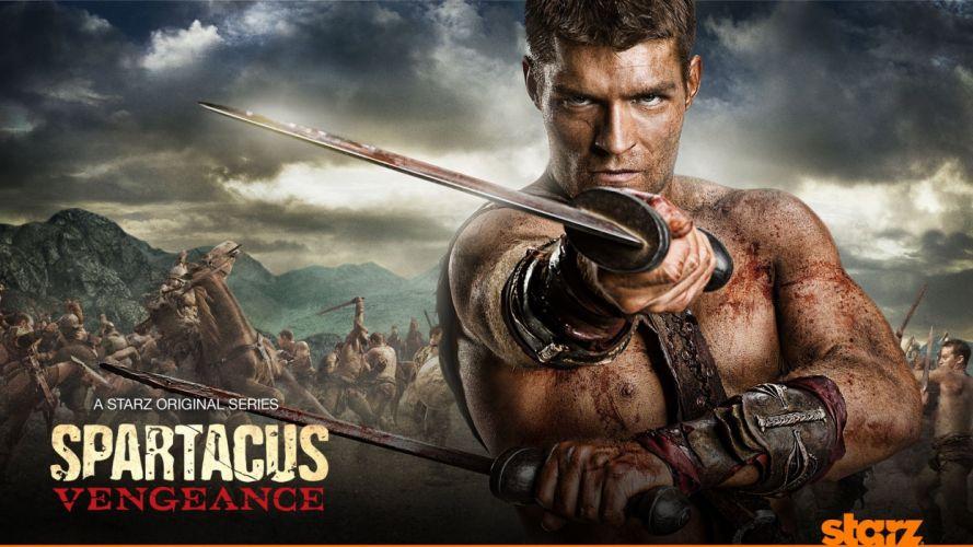 SPARTACUS series fantasy action adventure biography television warrior (67) wallpaper