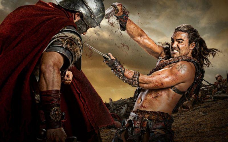 SPARTACUS series fantasy action adventure biography television warrior (83) wallpaper