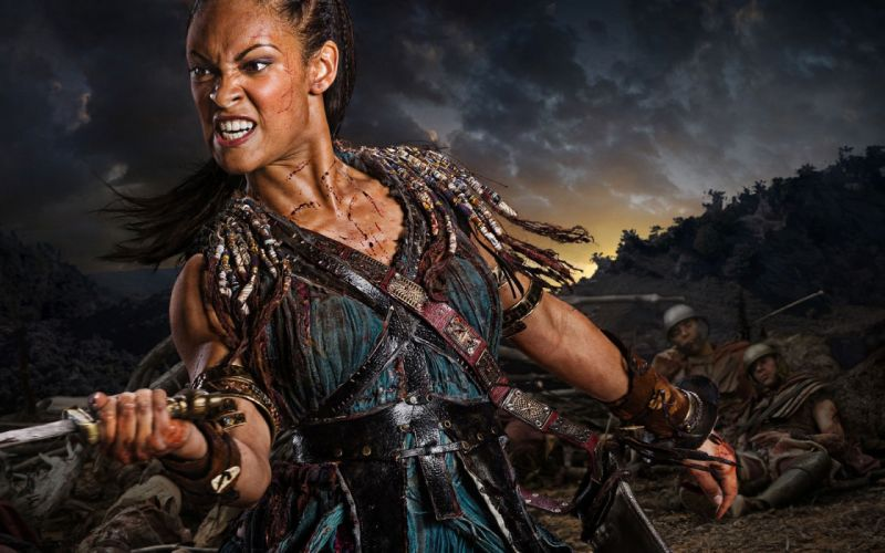 SPARTACUS series fantasy action adventure biography television warrior (84) wallpaper
