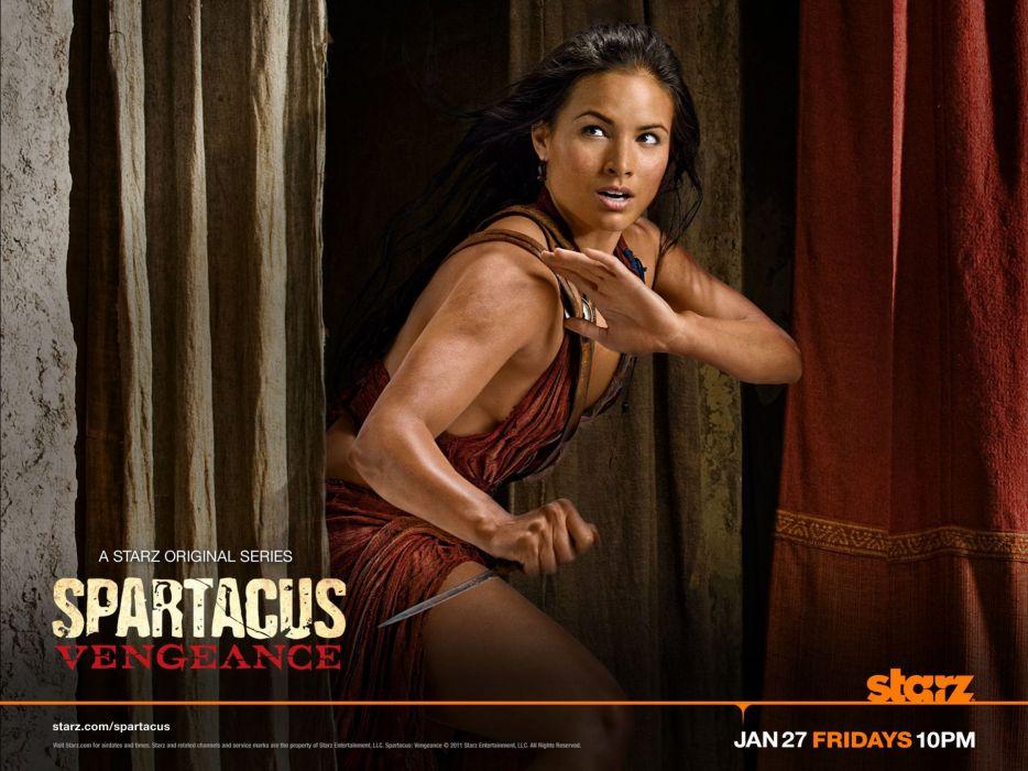 SPARTACUS series fantasy action adventure biography television warrior (106) wallpaper
