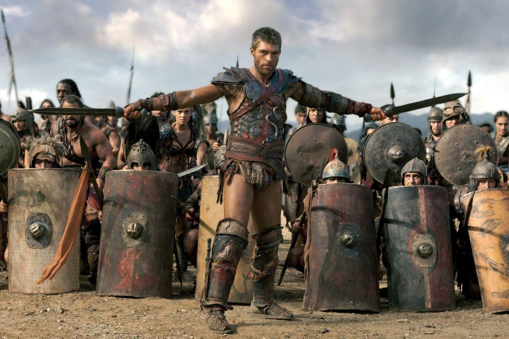 SPARTACUS series fantasy action adventure biography television warrior (101) wallpaper