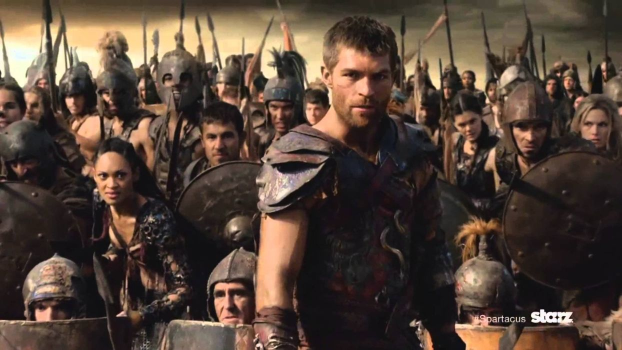 SPARTACUS series fantasy action adventure biography television warrior (114) wallpaper