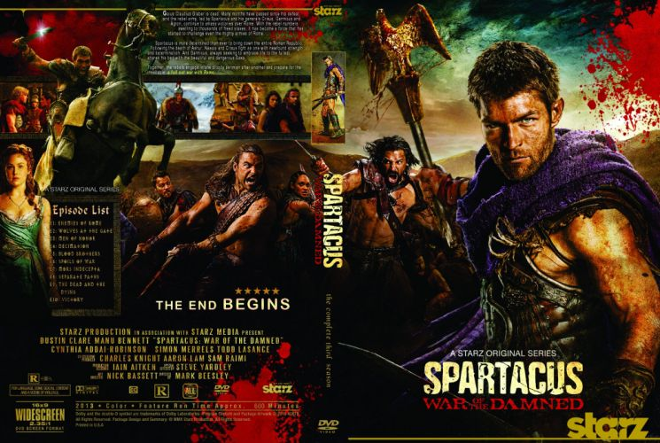 SPARTACUS series fantasy action adventure biography television warrior (111) wallpaper
