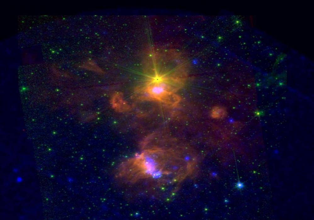 Star-forming region ON2 esa europe space wallpaper