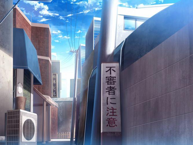 building city clouds ha ru nobody original scenic translation request wallpaper