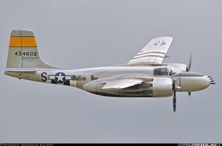 Douglas A-26B Invader 1822x1200 wallpaper
