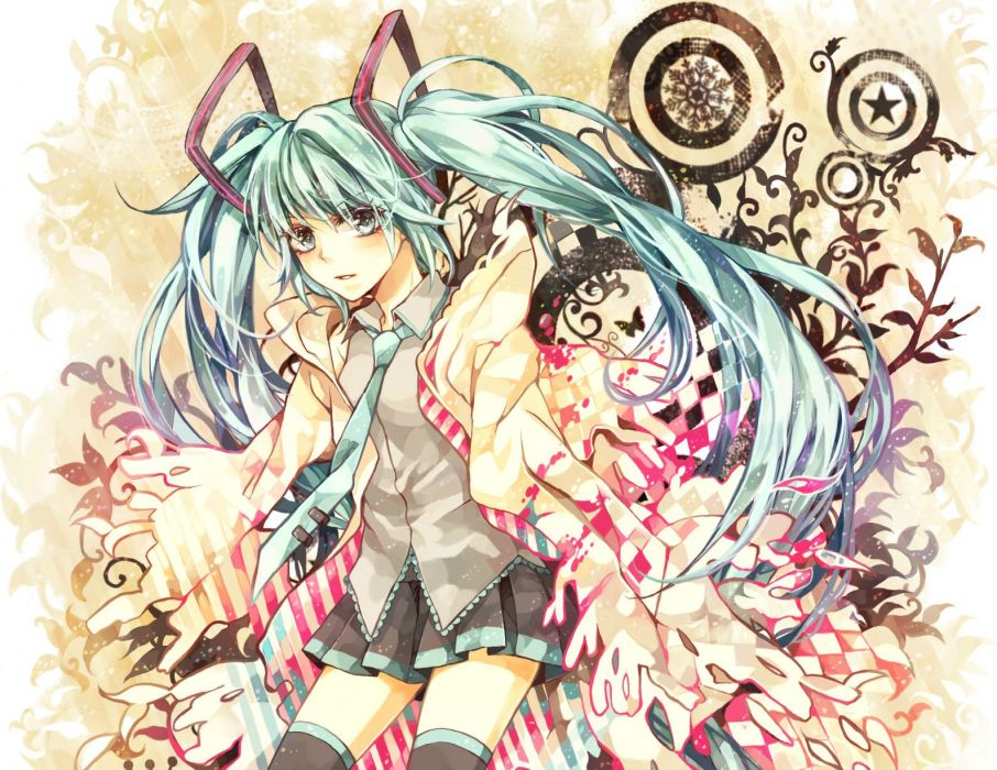 Vocaloid Hatsune Miku     h wallpaper