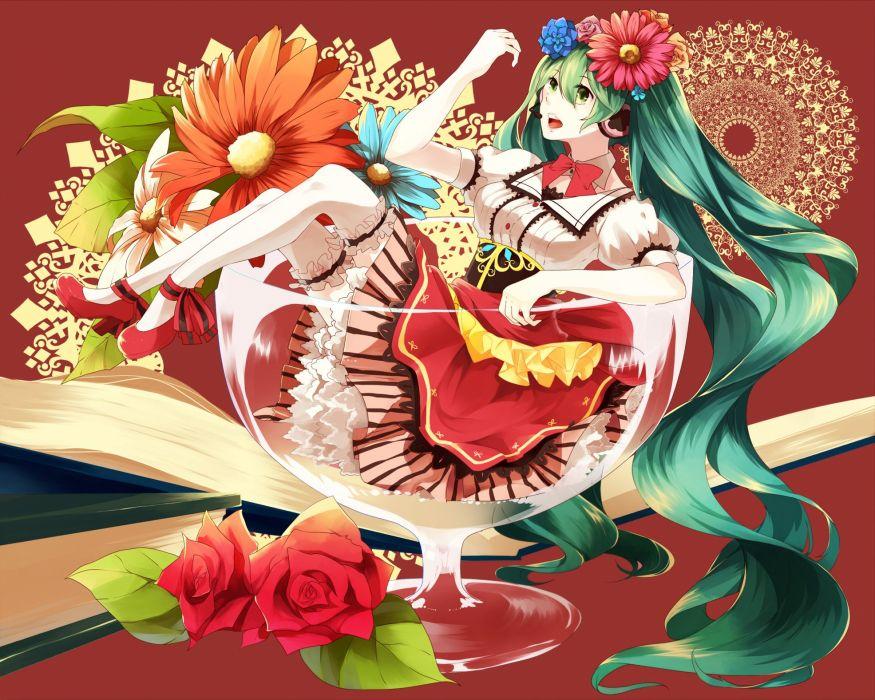 Vocaloid Hatsune Miku      gf wallpaper