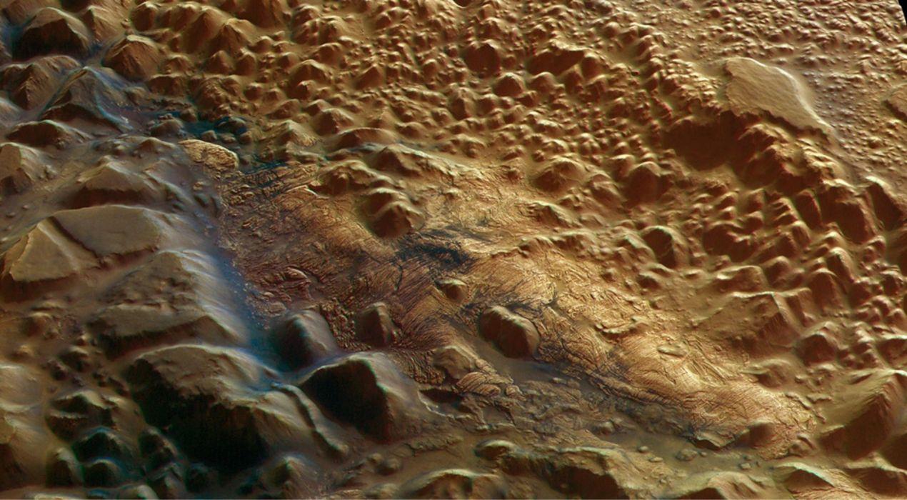 esa europe spaceStrange deposits seen on Mars 1920x1058 wallpaper