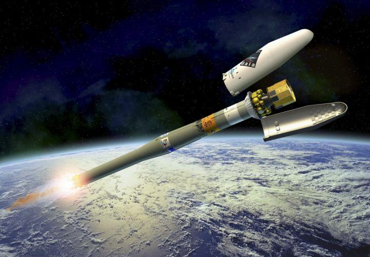 esa europe space Gaia launch wallpaper