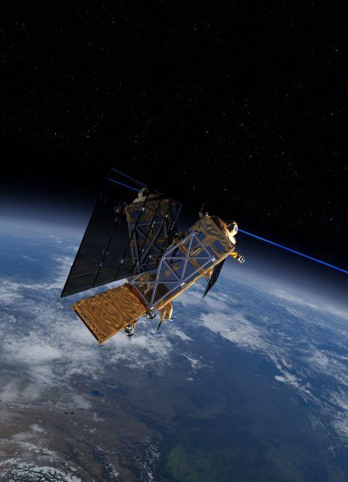 esa europe space Sentinel-1 EDRS laser wallpaper