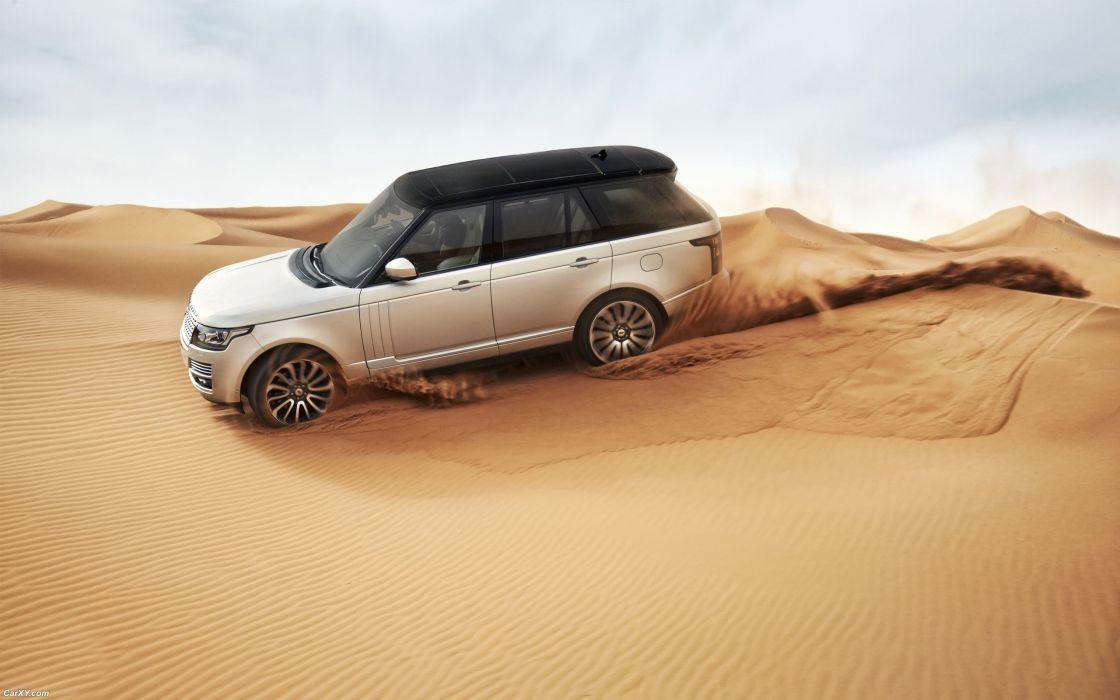 sand cars deserts Range Rover wallpaper