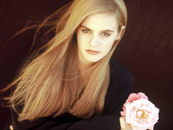 blondes women actress Alicia Silverstone wallpaper