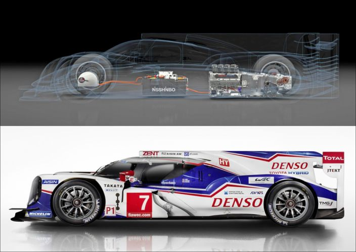 Yesterday Toyota Motorsport revealed their TS040 HYBRID which produces over 1000 bhp and will take on Porsche and Audi at Le Mans! 1690x1200 wallpaper