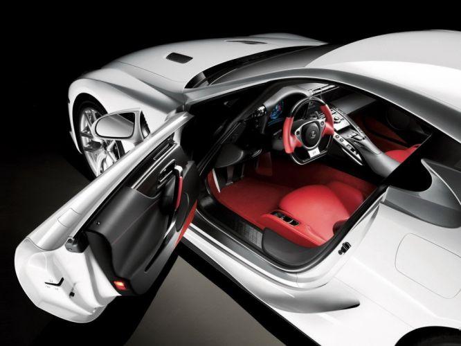 cars Lexus car interiors wallpaper