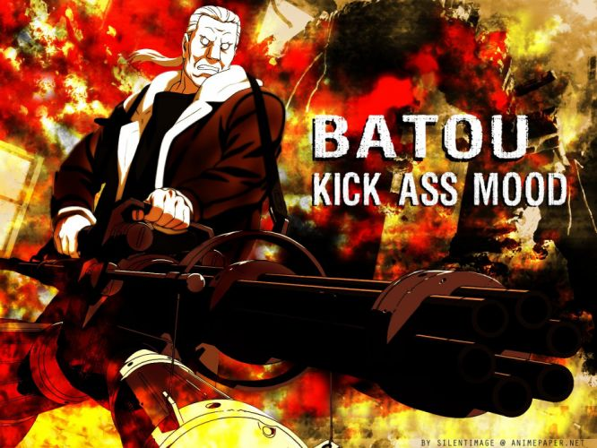 Batou Ghost in the Shell wallpaper