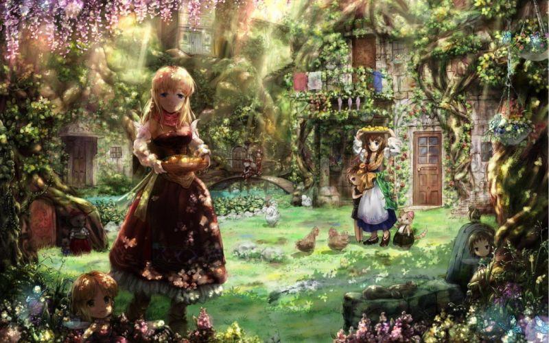 anime Miyai Haruki wallpaper