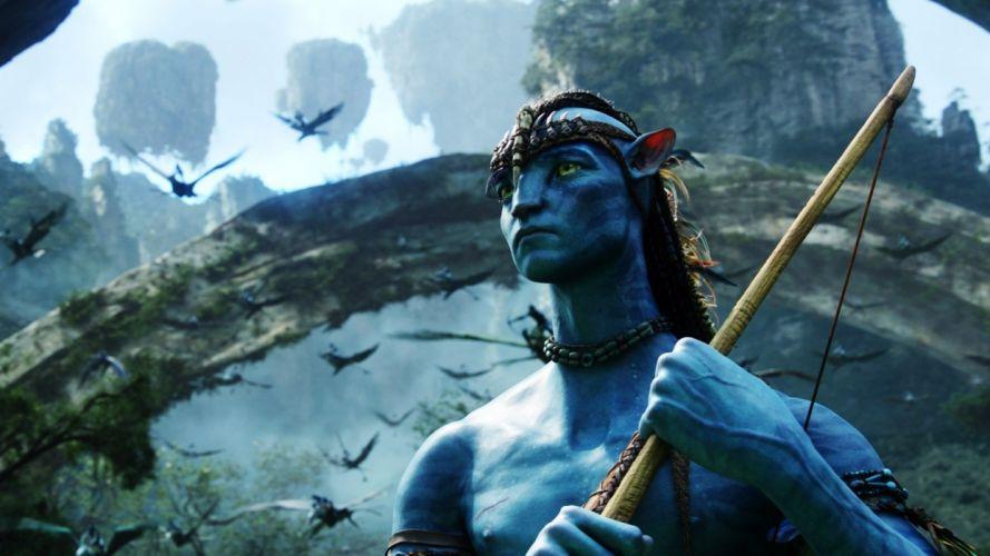 Avatar bows Jake Sully wallpaper