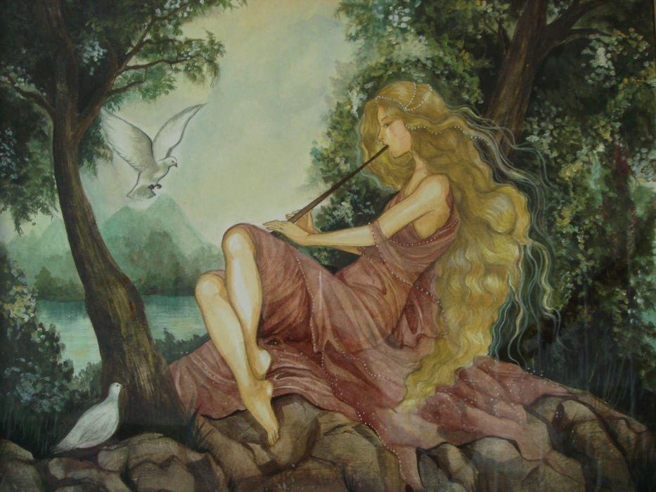 fantasy art Rebecca Guay wallpaper