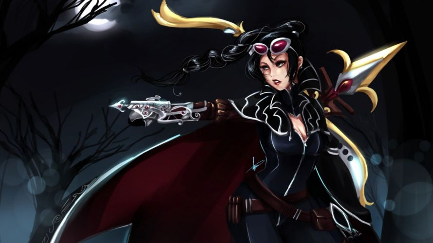 League of Legends artwork wallpaper