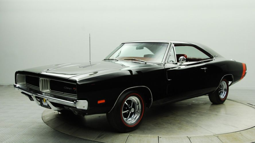 cars Dodge Charger R/T black cars classic cars muscle car wallpaper