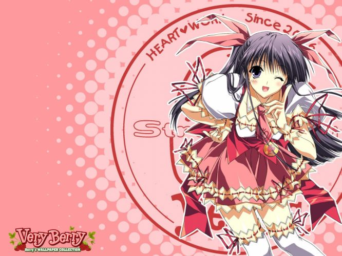 anime purple eyes anime girls morikubo yuna wallpaper