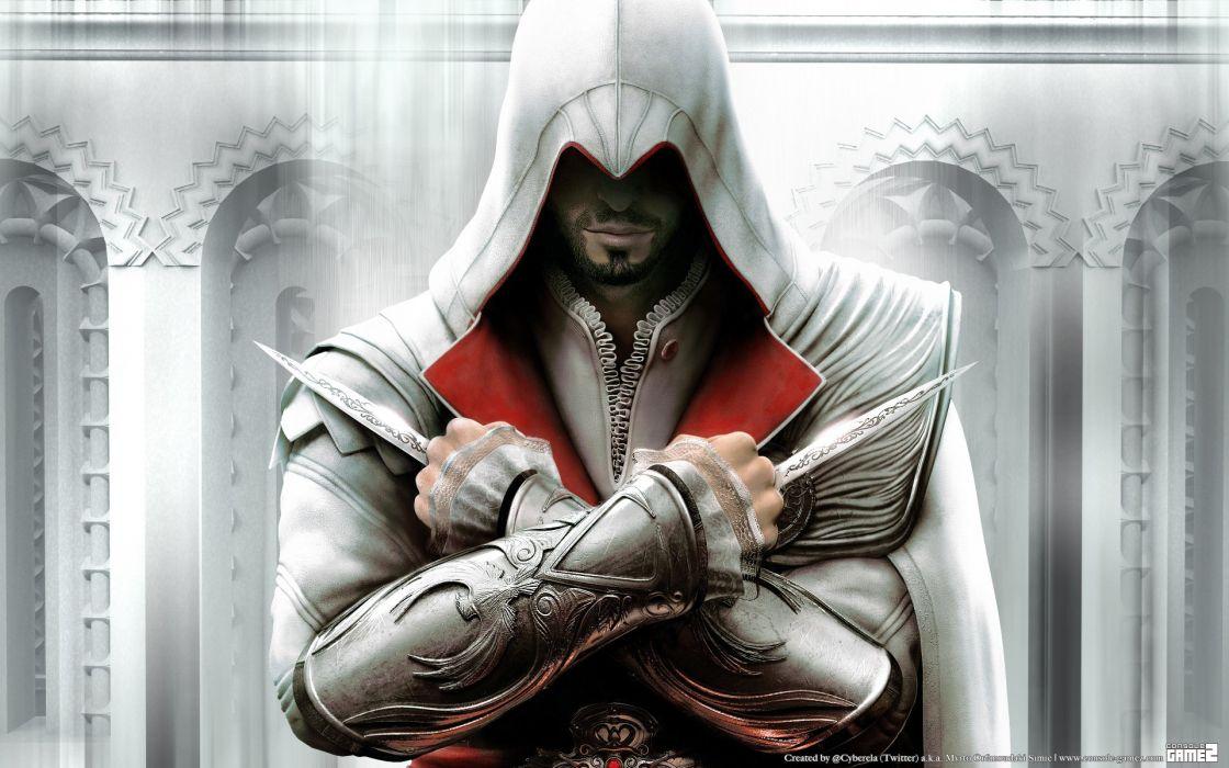 video games Assassins Creed Ezio Auditore da Firenze wallpaper