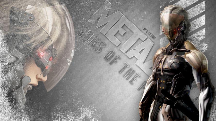 Metal Gear Solid Raiden Metal Gear Solid 4 wallpaper