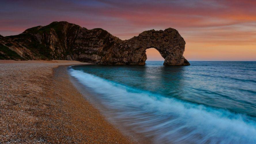 nature sand scenario sea wallpaper