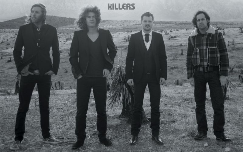 The Killers music bands Brandon Flowers wallpaper