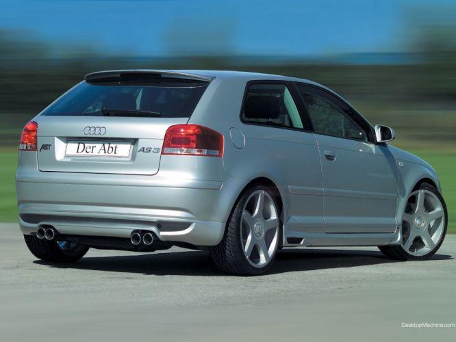 cars Audi A3 ABT wallpaper