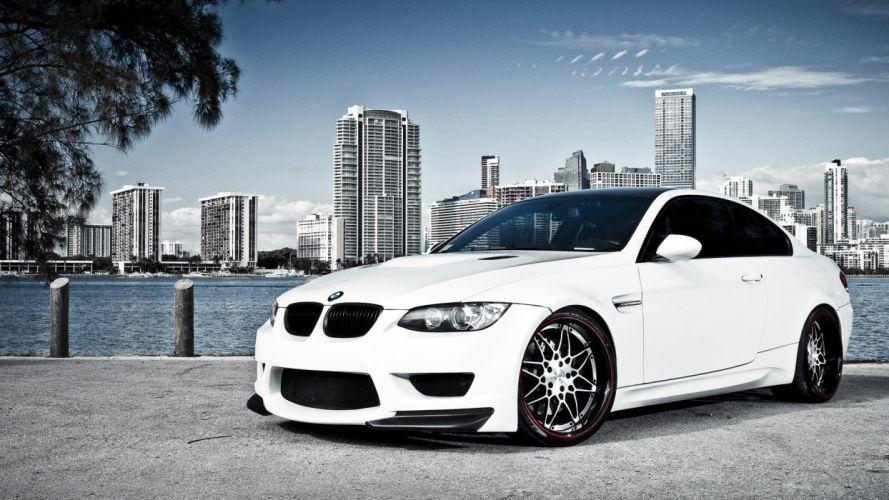 BMW cars vehicles wheels BMW M3 BMW E92 automobiles wallpaper