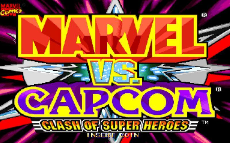 video games Marvel vs Capcom wallpaper