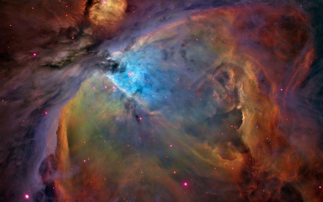 outer space nebulae Orion orion nebula wallpaper