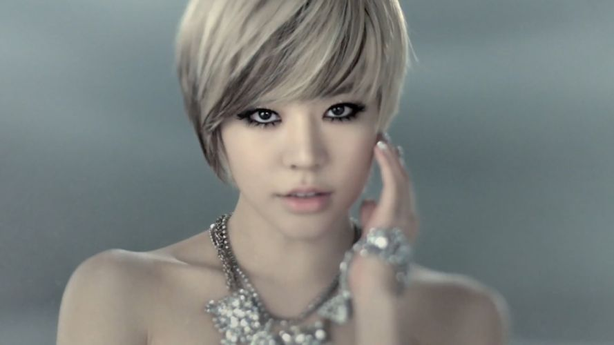 women Girls Generation SNSD short hair Asians Korean K-Pop Lee Soon Kyu wallpaper